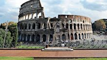 Tourist caught carving initials into Colosseum