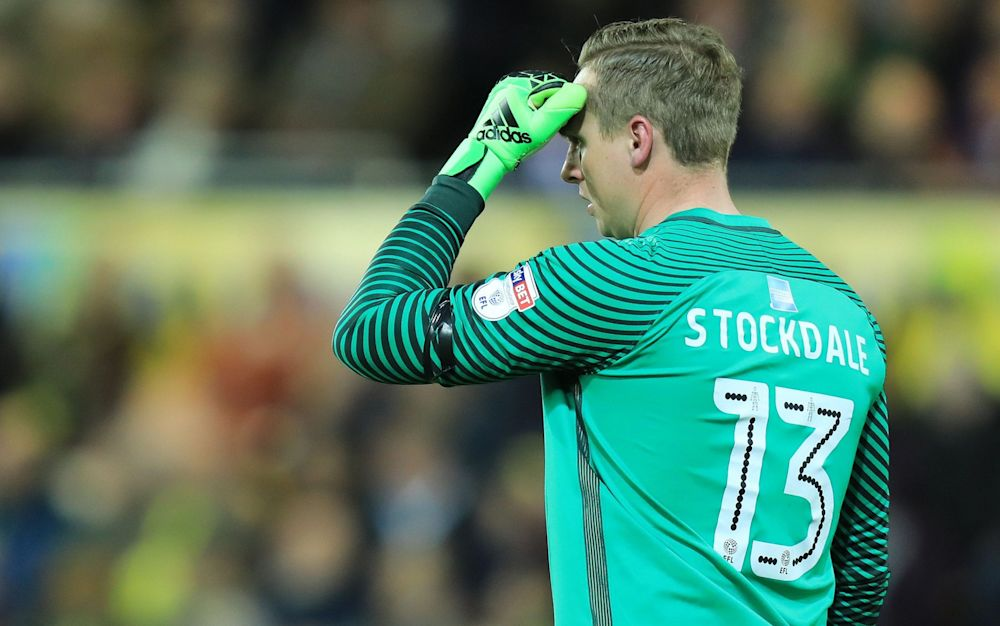 David Stockdale could not believe his luck on Friday when the unlucky No 13 scored two own-goals in his side's defeat to Norwich who could not manage a shot on target - Rex Features