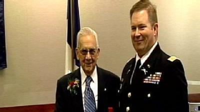 WWII Veteran Awarded French Legion Of Honor