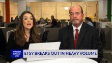 Etsy Breaks Out In Heavy Volume