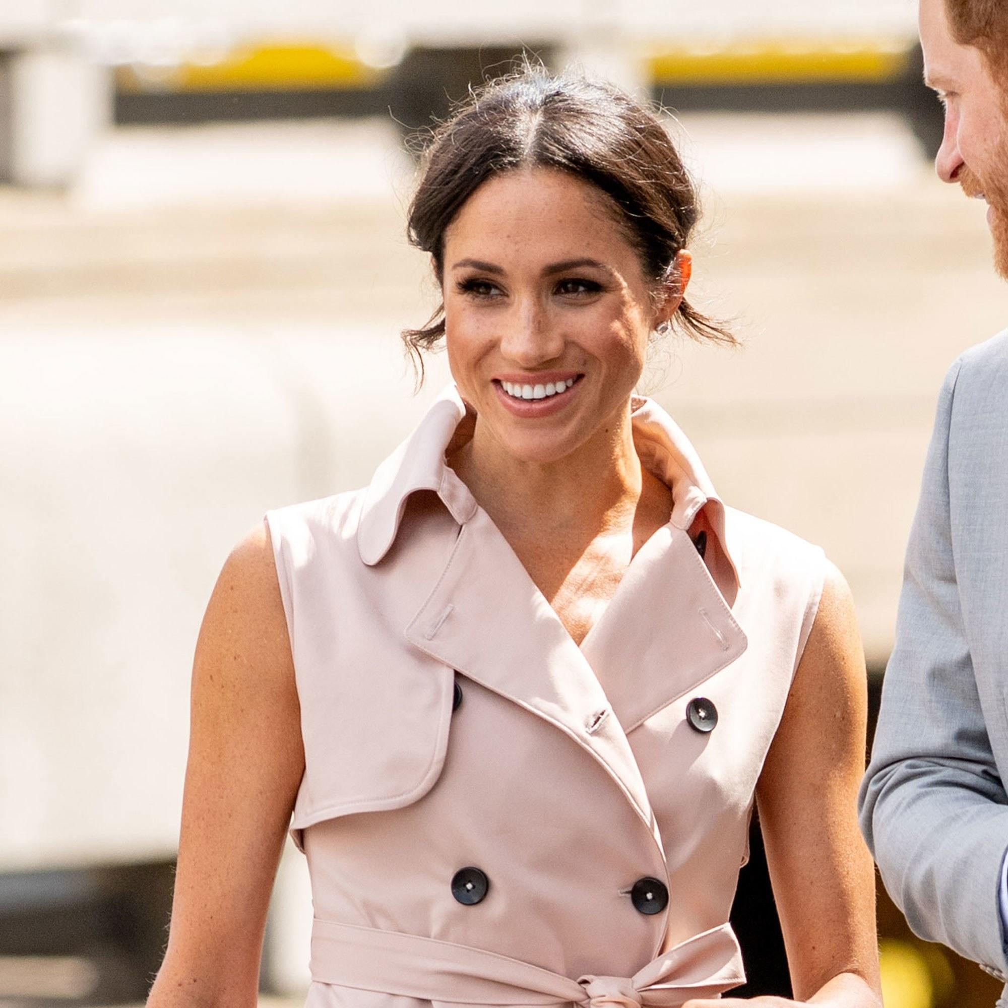 Meghan Markle Swaps Nude Nails For A Royally Pretty New