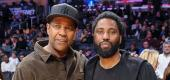 Denzel Washington and John David Washington. (Getty Images)