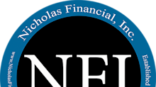 Nicholas Financial, Inc. Announces New Company Logo and 35th Anniversary
