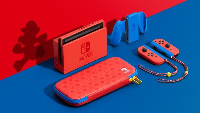 Nintendo Switch Super Mario Bros. edition