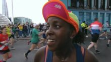 Mum who gave birth eight months ago is stopping to breastfeed baby during London Marathon