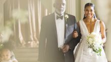'Being Mary Jane' Ends With Gabrielle Union in a Randi Rahm Wedding Dress