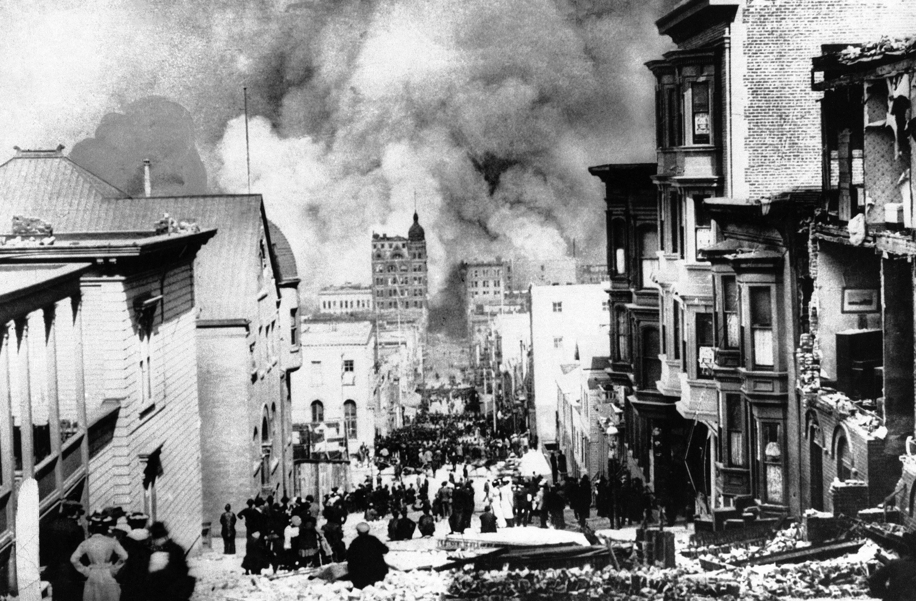 an analysis of the topic of the earthquake of 1906 Tough gcse topics broken down and explained by the san francisco earthquake of 1906 was a major earthquake the most recent analysis by the united.