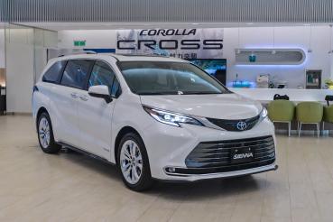 全新改款Toyota Sienna即日起展開預售、限量早鳥優惠價210萬元起!