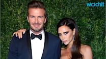 David Beckham Let Harper Do His Hair, and It's the Cutest