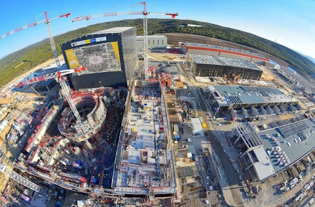 The colossal ITER fusion power facility is halfway finished