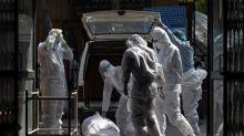 Relatives queue to cremate coronavirus dead in New Delhi