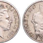 澳洲硬幣現錯體 升值60,000倍