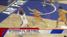 Air Force rallies in second half to defeat Wyoming