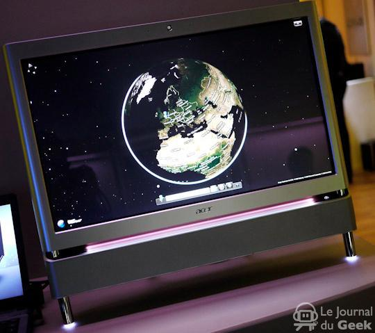 Acer's Aspire Z5610 all-in-one spotted in the wild