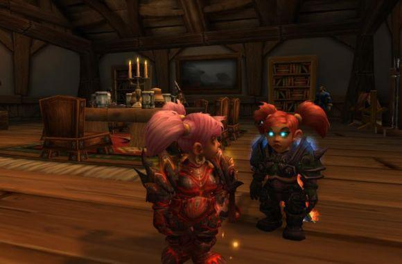 Around Azeroth: Which of us is the evil twin again?