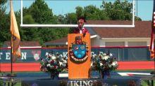 Principal cut off valedictorian's grad speech on LGBTQ identity. So he did it by memory