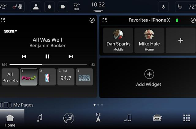 Fiat Chrysler's Android-based Uconnect 5 supports Alexa and wireless CarPlay
