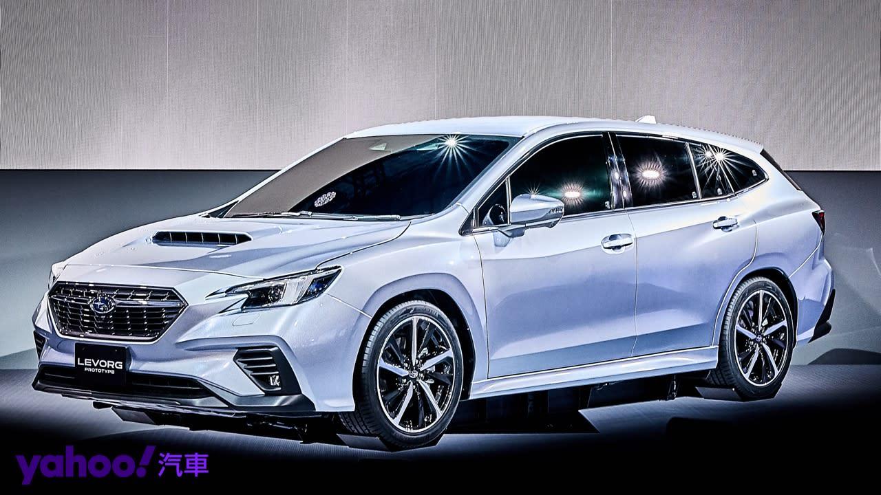 【東京車展】Subaru全新Levorg原型車首度展演!