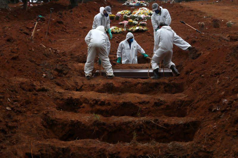 CORONAVIRUS: PLUS DE 35.000 MORTS AU BRÉSIL
