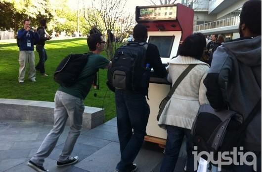 Occupy the Joystick: OAK-U-TRON 201X and Keep Me Occupied take DIY games to the people