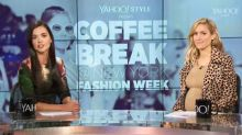 Kristin Cavallari, Olivia Culpo & Ally Brooke Talk Trends, Fashion News & More on #NYFWcoffeebreak Day Six