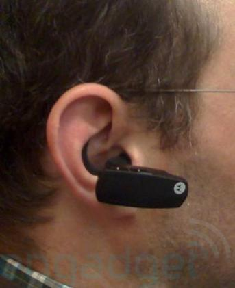 What happened to Motorola's bone conduction Bluetooth headset?