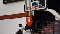 Dunk Contest North-South All Stars 313