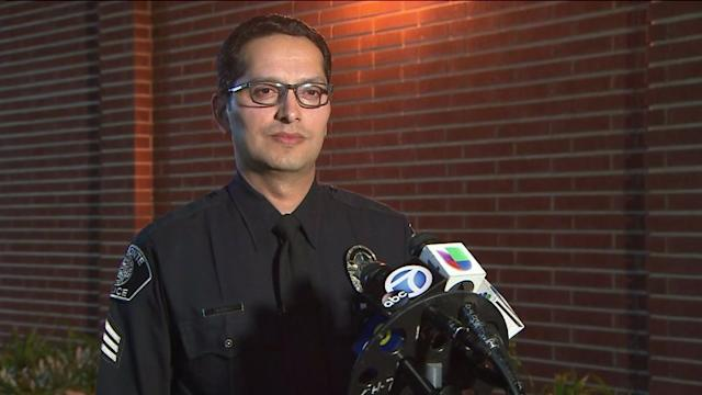 Raw Video: El Monte Police on Arrest of Rape Suspect