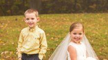 Une petite fille de 5 ans a « épousé » son meilleur ami avant de se faire opérer du cœur
