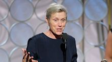 NBC censored Frances McDormand's Globes speech but missed the actual swear word