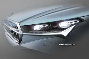 Skoda公佈Enyaq iV頭尾燈設計手稿
