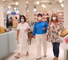 Anti-mask campaigner says face coverings 'infringe her human rights'