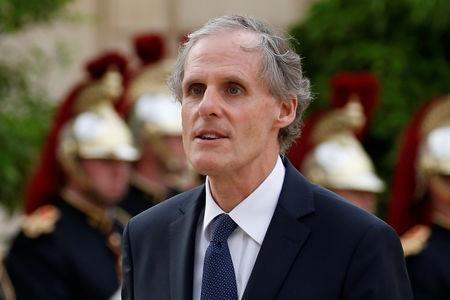 FILE PHOTO: General Secretary of the Quai d'Orsay (Ministry of Foreign Affairs) Christian Masset arrives to attend a dinner in honour of South African President Jacob Zuma at the Elysee palace in Paris, France, July 11, 2016. Picture taken July 11, 2016. REUTERS/Benoit Tessier