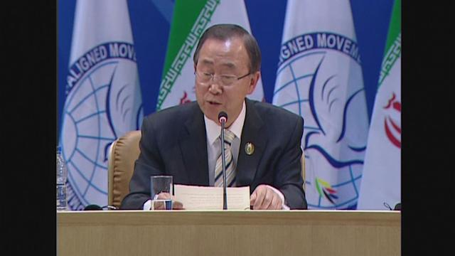 UN chief slams Iran over Holocaust, anti-Israel remarks