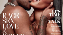 Fans are loving this racy GQ cover featuring Naomi Campbell and Skepta