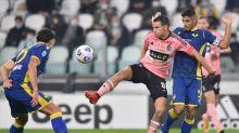 Verona e traverse fermano la Juventus