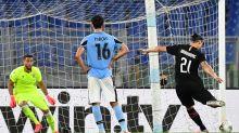 Lazio ko con il Milan, Juve vince derby e scappa