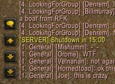20 US Realms Down Friday Night