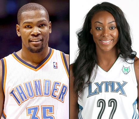 c8909f80f79 Kevin Durant Gets Engaged to WNBA Player Monica Wright