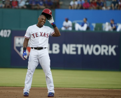 Adrián Beltré is the newest member of the 3,000-hit club. (AP Photo)