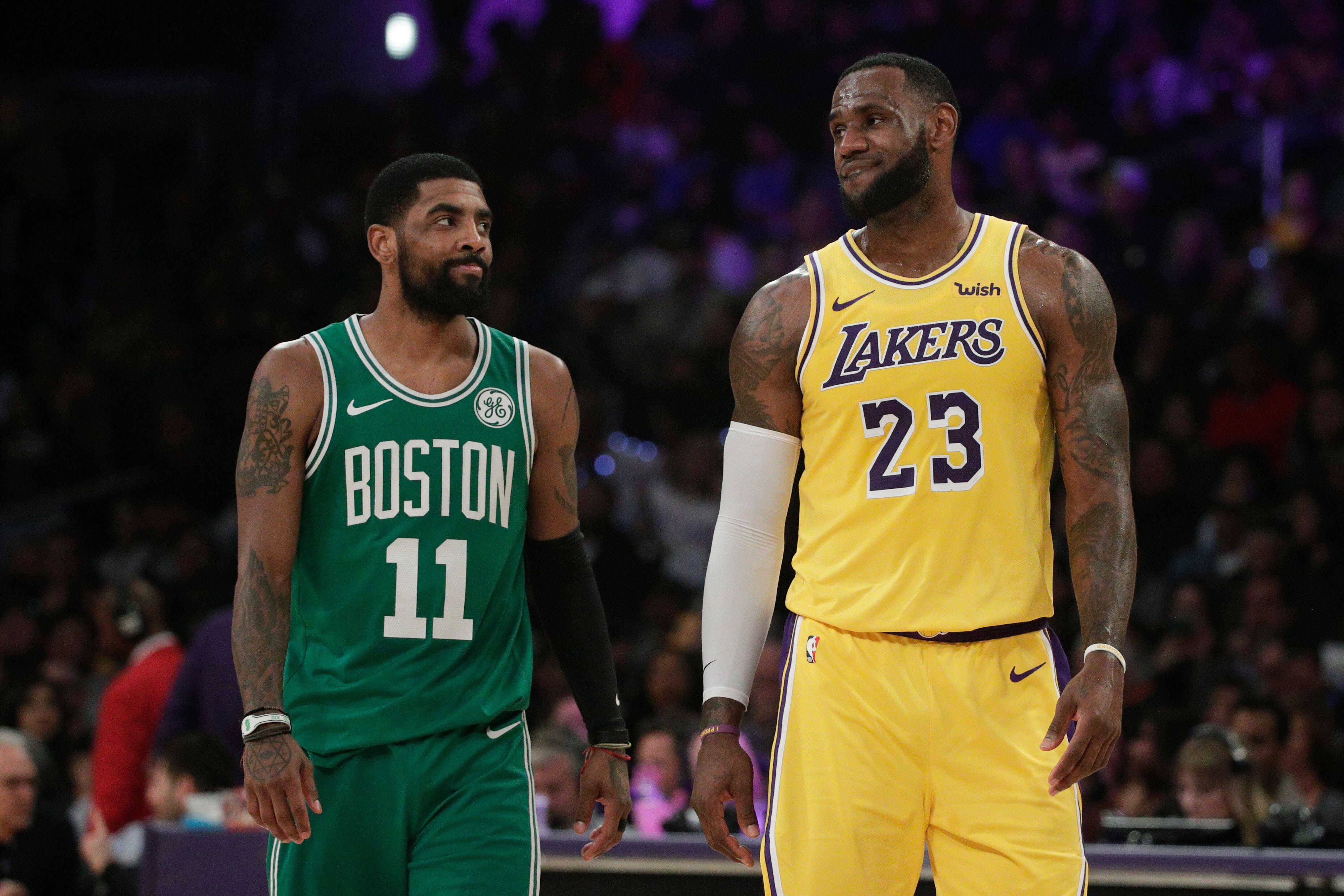 4ec1cf527 Kyrie Irving reportedly eyeing playing for Lakers next season