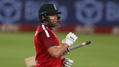 Brilliant Bairstow guides England to victory in first T20 v S.Africa