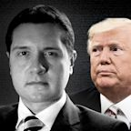 An attorney forced out of the CIA's watchdog office is representing the Trump whistleblower