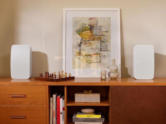 Sonos' updated Play:5 is now just called 'Five'