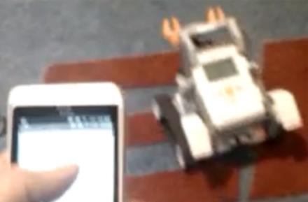 HTC Hero-controlled Mindstorms bot hints at Android uprising