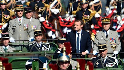 Macron rejects 'excessively military' ceremony for Armistice Day, sparking row over commemorations