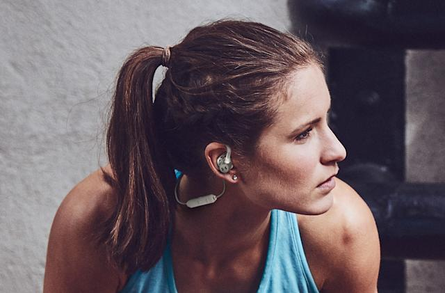 Under Armour's latest wireless buds stay in your ears during workouts