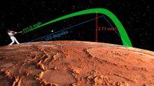 How Far Would a Home Run Travel on Mars?