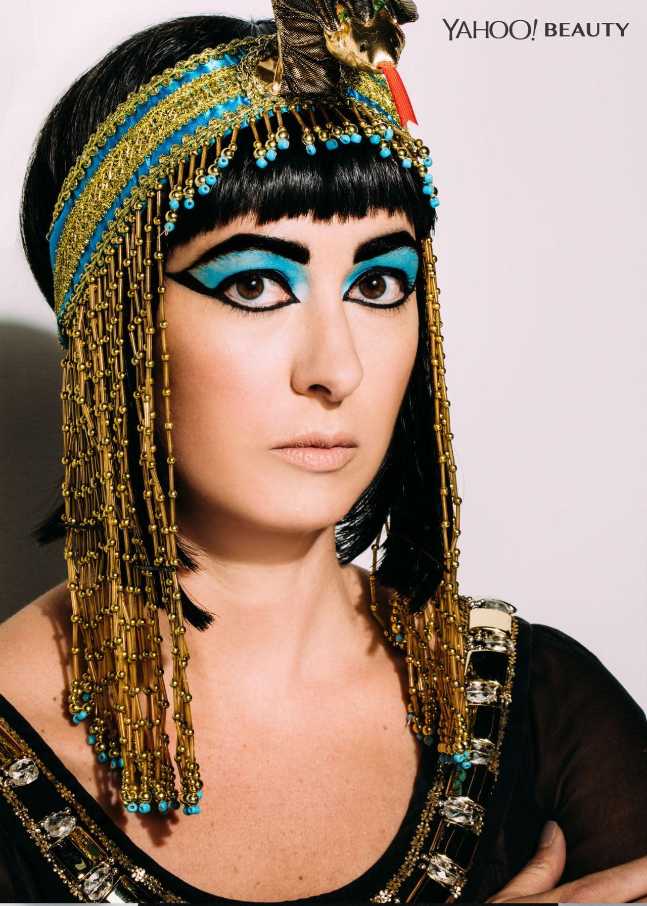 Halloween Beauty Tutorial: Cleopatra, The Last Pharaoh