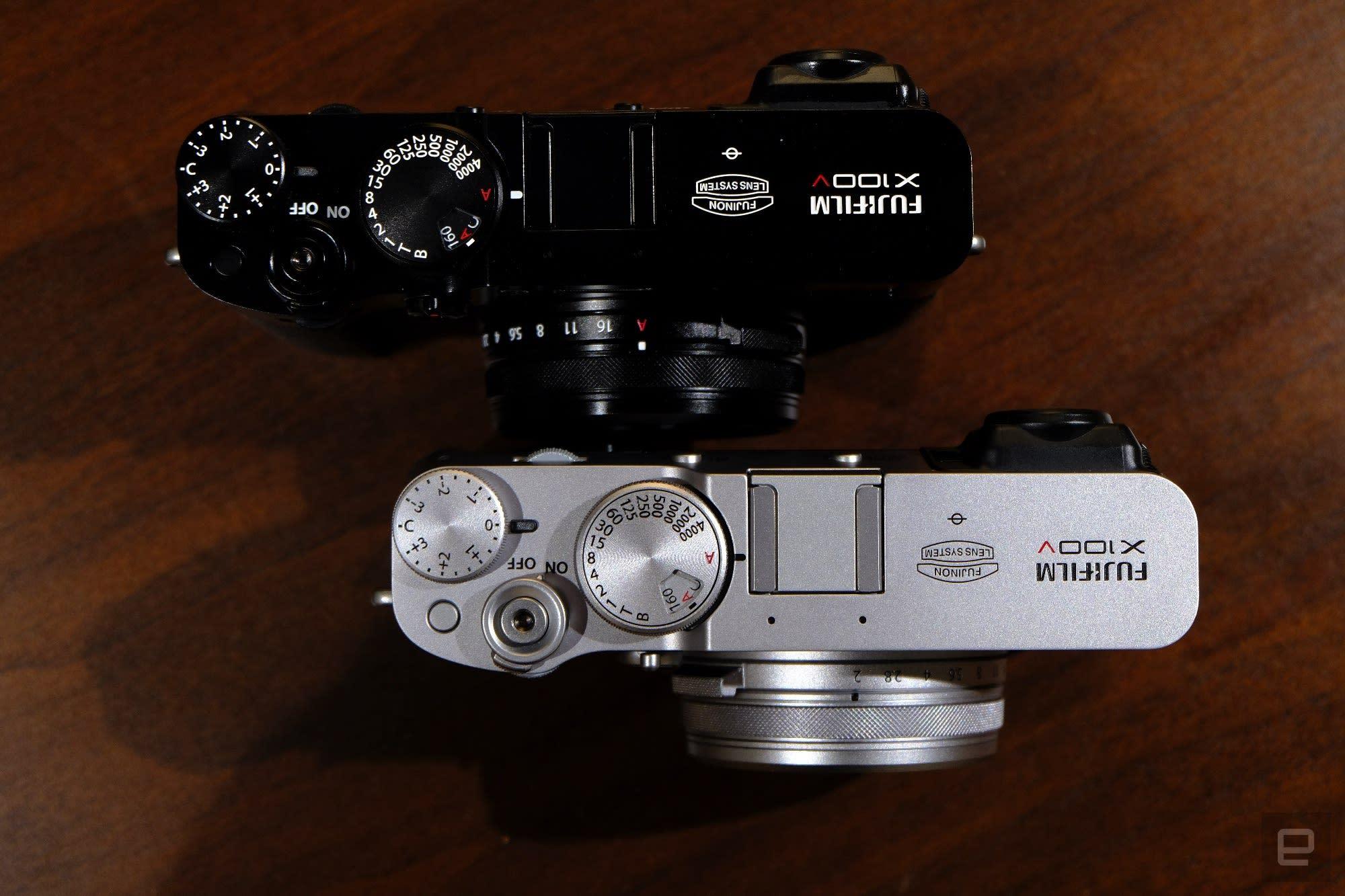 Fujifilm X100V compact street photography camera